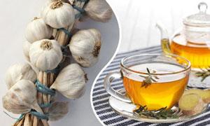 чай для похудения с имбирем и чесноком