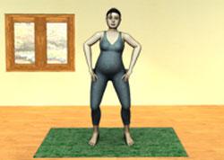 йога упражнения беременность