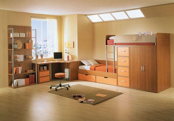 интерьер комнаты для мальчика 8-11 лет