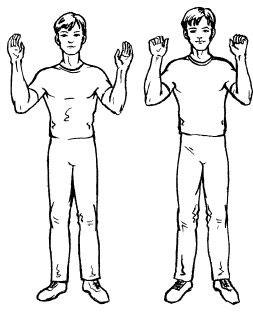 ладошки упражнения стрельниковой