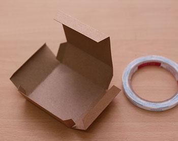 делаем бумажную коробочку