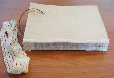 как украсить самодельный блокнот