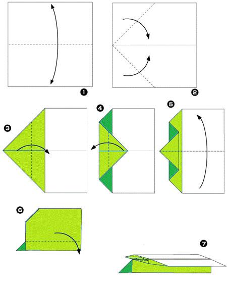 Как сделать из бумаги простой самолёт