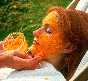 рецепт морковной маски для лица