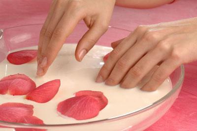 как делать ванночку для ногтей