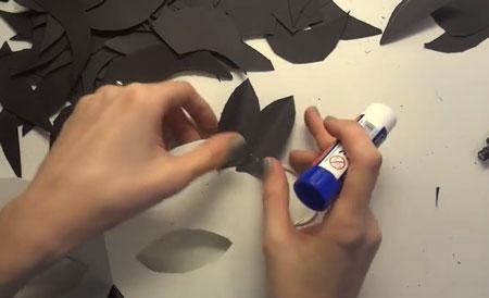 маска черный ворон