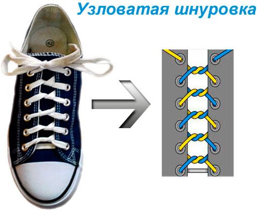 красивая шнуровка