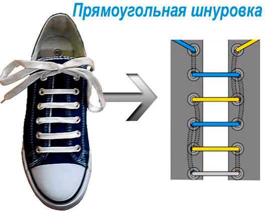 завязываем шнурки