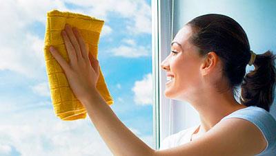 правильное мытье окон